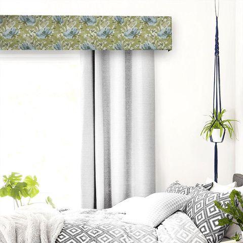Art Deco Cornflower Pelmet