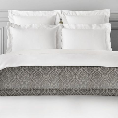 Auvergne Charcoal Bed Runner