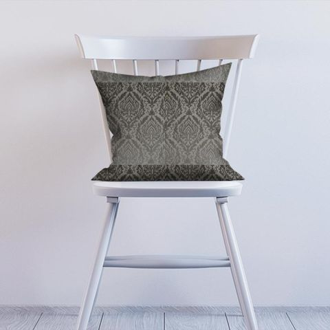 Auvergne Charcoal Cushion