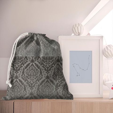 Auvergne Charcoal Pyjama Bag