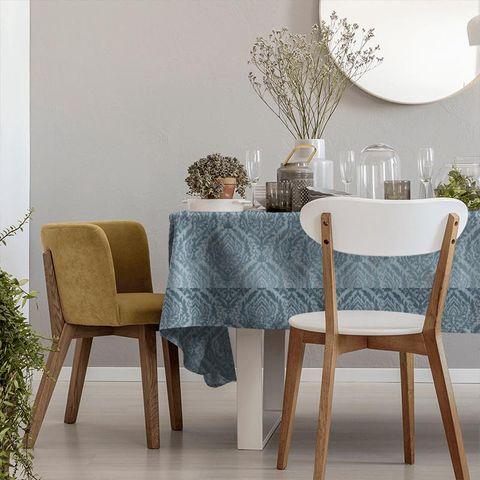 Auvergne Eau De Nil Tablecloth