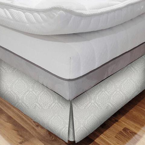 Auvergne Ivory Bed Base Valance