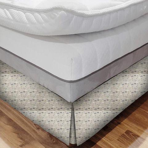 Baa Baa Charcoal Bed Base Valance