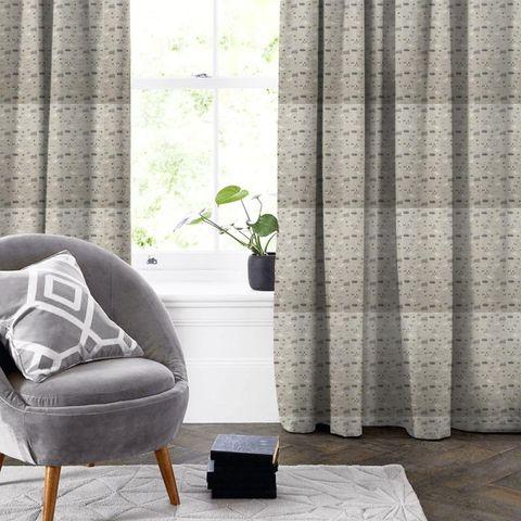 Baa Baa Charcoal Made To Measure Curtain