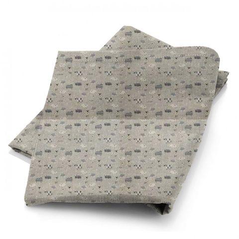 Baa Baa Charcoal Fabric