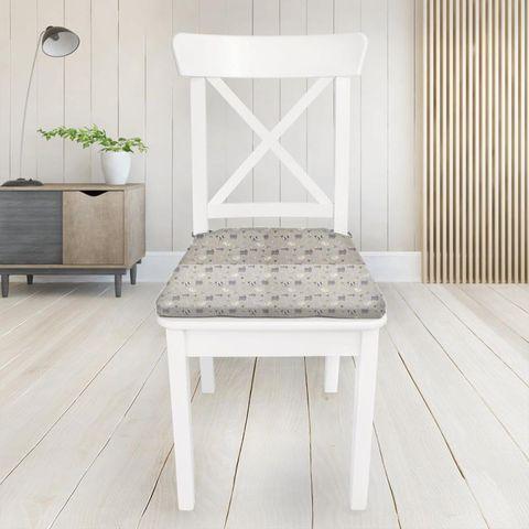 Baa Baa Lavender Seat Pad Cover