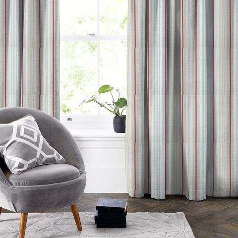 Beechwood Blue Made To Measure Curtain