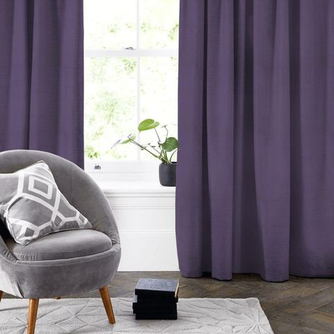 Belvoir Bilberry Made To Measure Curtain