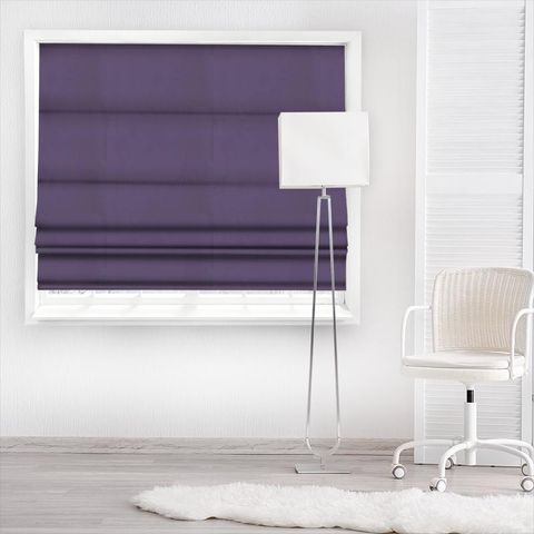 Belvoir Bilberry Made To Measure Roman Blind