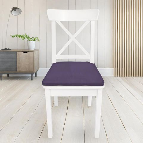 Belvoir Bilberry Seat Pad Cover