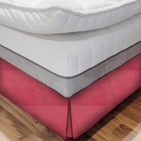 Contour Wine Bed Base Valance