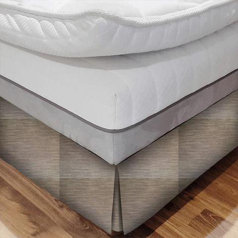 Dante Mocha Bed Base Valance