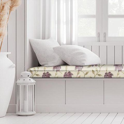 Everglade Berry Box Cushion