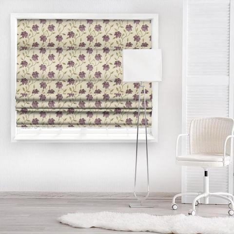 Everglade Berry Made To Measure Roman Blind
