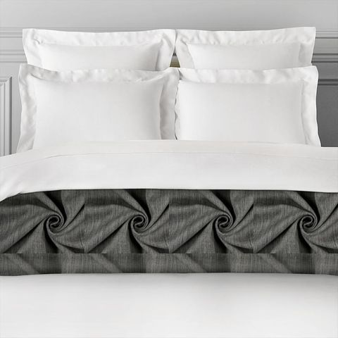 Star Charcoal Bed Runner