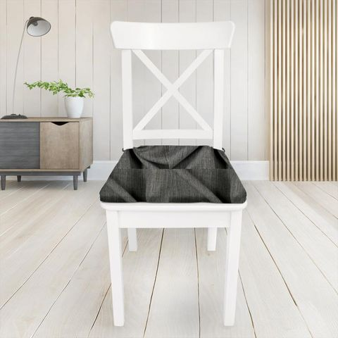 Star Charcoal Seat Pad Cover
