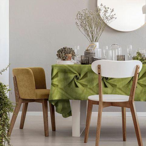 Moonlight Evergreen Tablecloth