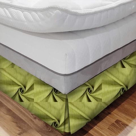 Moonlight Evergreen Bed Base Valance