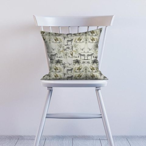 Longleat Chartreuse Cushion