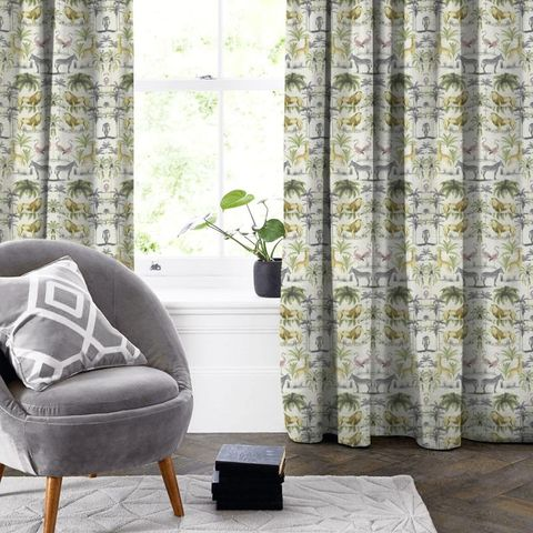 Longleat Acacia Made To Measure Curtain