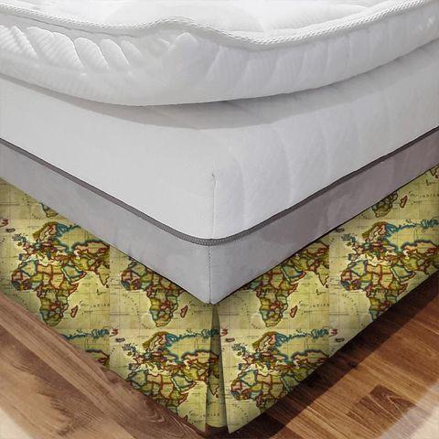 Atlas Antique Bed Base Valance