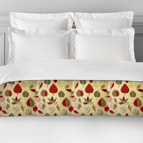 Maple Red Berry Bed Runner