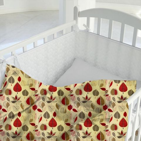 Maple Red Berry Cot Duvet Cover