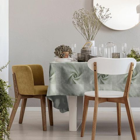 Alaska Silver Tablecloth