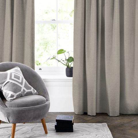 Abbey Smoke Made To Measure Curtain