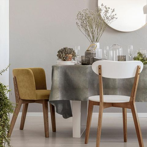 Aquilo Anthracite Tablecloth