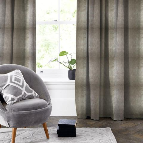 Aquilo Anthracite Made To Measure Curtain