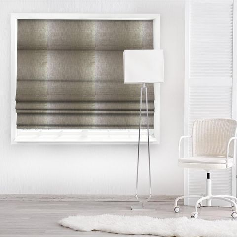 Aquilo Anthracite Made To Measure Roman Blind