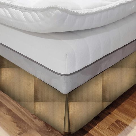Aquilo Copper Bed Base Valance