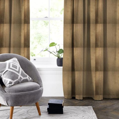 Aquilo Copper Made To Measure Curtain