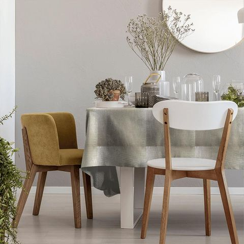 Aquilo Sterling Tablecloth