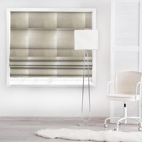 Aquilo Sterling Made To Measure Roman Blind