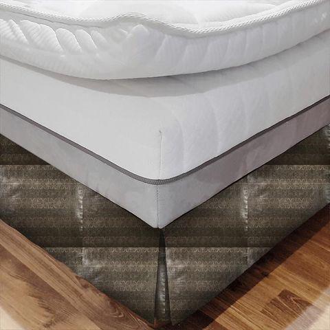 Artemis Copper Bed Base Valance