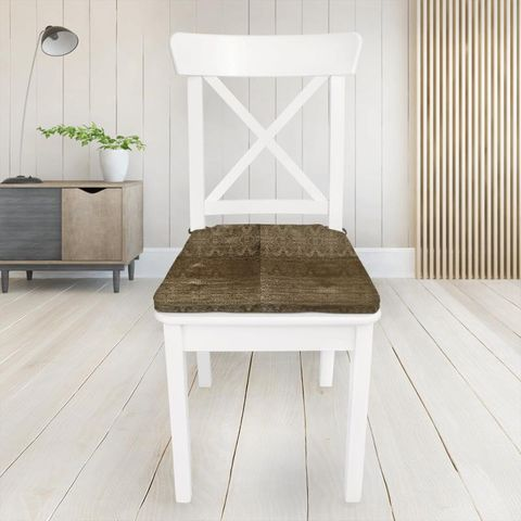 Artemis Gilt Seat Pad Cover