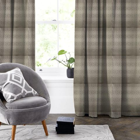 Athena Anthracite Made To Measure Curtain