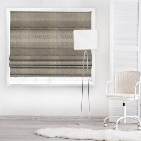 Athena Anthracite Made To Measure Roman Blind