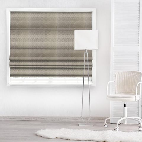 Athena Sterling Made To Measure Roman Blind