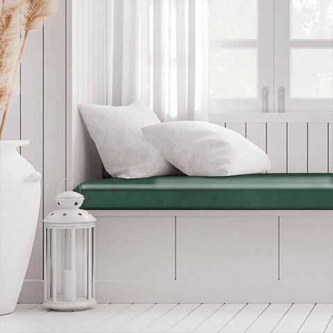 Alaska Emerald Box Cushion