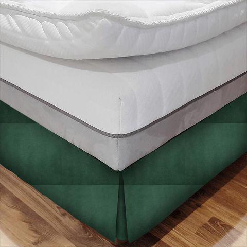 Alaska Emerald Bed Base Valance