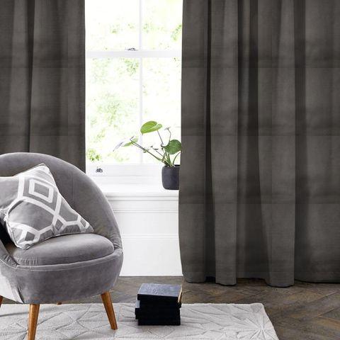 Alaska Grey Made To Measure Curtain