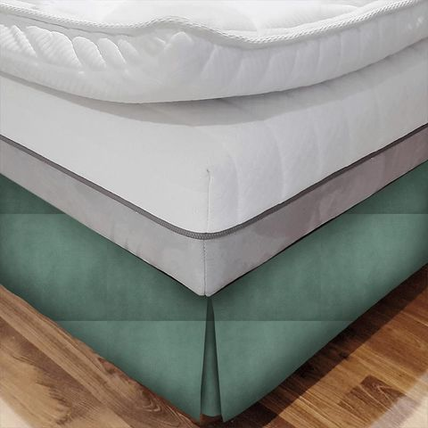 Alaska Sea Foam Bed Base Valance