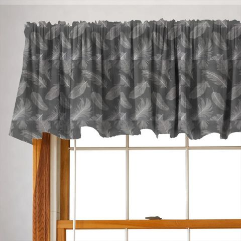 Quill Slate Valance