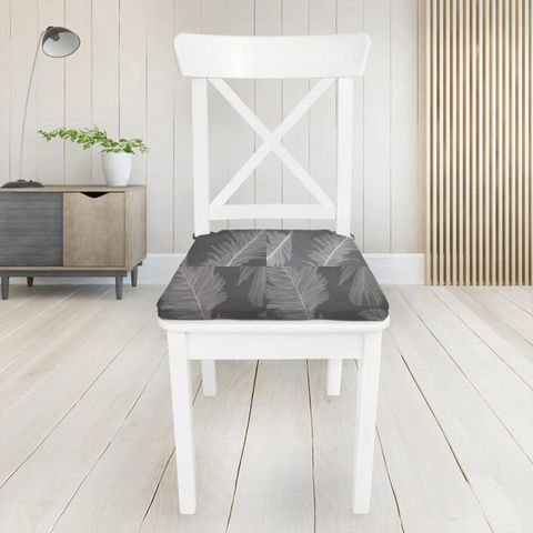 Quill Slate Seat Pad Cover
