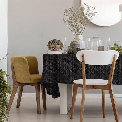 Adorna Onyx Tablecloth