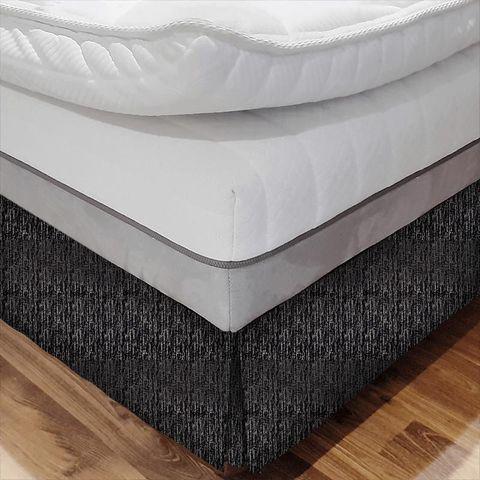 Adorna Onyx Bed Base Valance