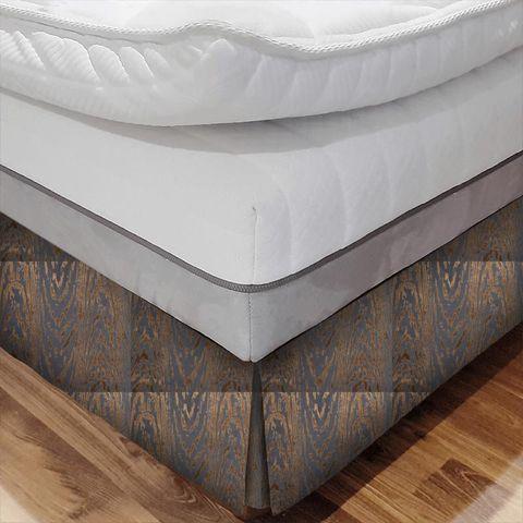 Marva Copper Bed Base Valance